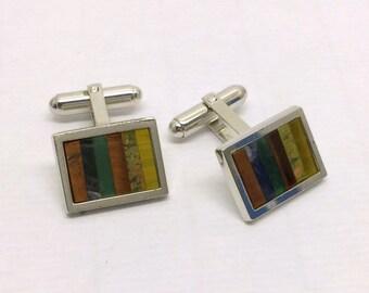 WALTER E HAYWARD Weh sterling silver cufflinks #156