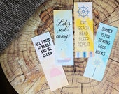 Printable Bookmarks Summer Reading Bookish Cute Bookmarks for Books Instant Download Paper Bookmark Literary Gifts Nautical Sea Beach
