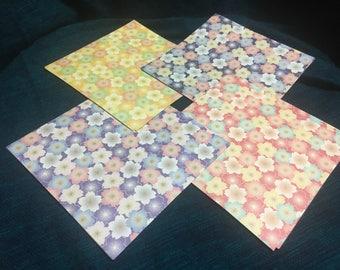 Sakura chiyogami -cherry blossom origami