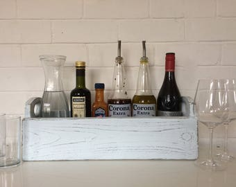 Rustic table caddy/herb box