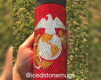 Marine Corps Stainless Steel Travel Mug Tumbler Cup