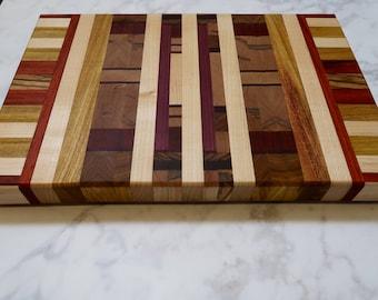 Wood Cutting Board - End Grain Cutting Board - Wood Serving Board - Kitchen Decor - Housewarming Gift - Wedding Gift - Specialty Wood