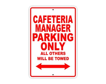 Cafeteria Manager