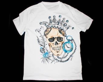 King shirt, King tshirt, King t shirt, King t-shirt, King and Queen shirt, Queen and King shirt, Skull shirt, Skull tshirt, Skull t shirt