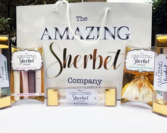 The amazing Sherbet Gift Bag - a collection of some of our best sellers!