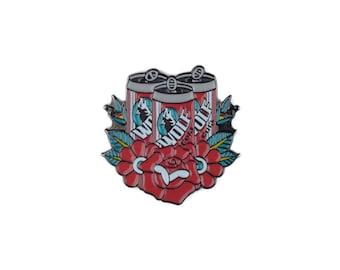 Wolf Cola Enamel Lapel Pin - Its Alway Sunny in Philadelphia Enamel Pin Badge