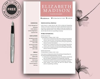 Resume Setup Example Word Teacher Resume  Etsy Professional Resume Fonts Excel with Marketing Assistant Resume Word  Resume Template Word Download Excel