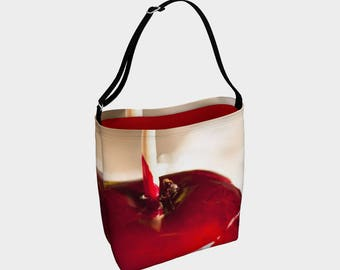 Neoprene tote - Candy Apple Red