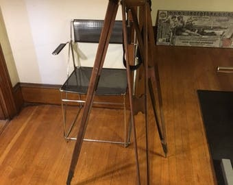 1820's Geographical Surveying Tripod Unrestored All Original