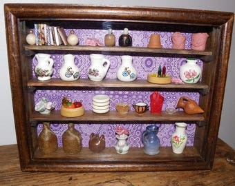Miniature Dresser - miniature showcase