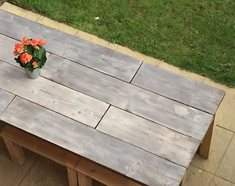 Scaffolding Garden Picnic Table