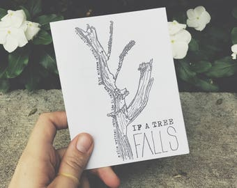 If A Tree Falls: A Nature Zine