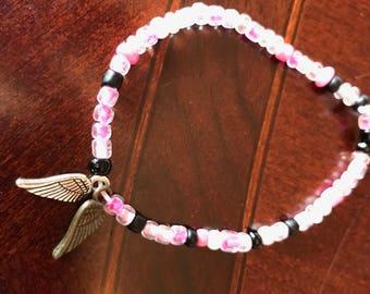 Baby girl angel bracelet