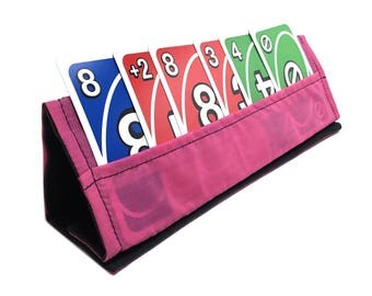 Pink Collapsible Card Stand
