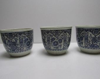 Delft Blue Vase/Belgium ROYAL/CA 1970