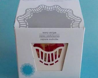 Martha Stewart Crafts Circle Edge Punch Cartridge - Wavy Stripe