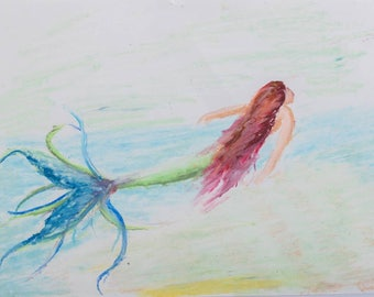Mermaid Fantasy pastel