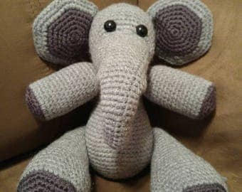 Handmade Crocheted Elephant