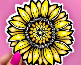 Sunflower Stickers Etsy