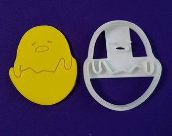 Gudetama at Home Cookie Cutter and Stamp