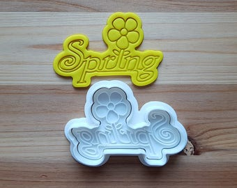 Spring Cookie Cutter and Stamp