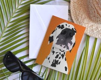 Card - General - Dalmatian big nose