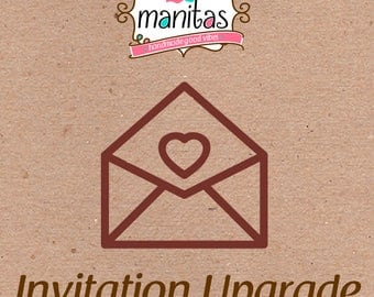 Invitation Upgrade! for wristbands order