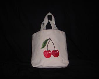 Small Cotton Canvas Tote Bag