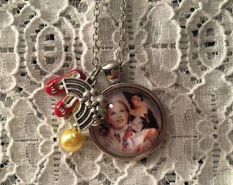 Wizard of Oz Charm Necklace/Wizard of Oz Jewelry/Wizard of Oz/Wizard of Oz Necklace/Oz Pendant/Dorothy Jewelry/Dorothy Necklace