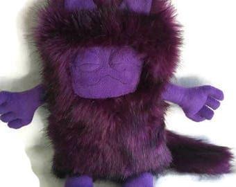 Big purple monster