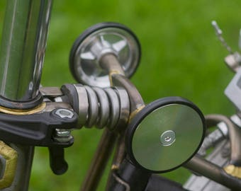 Super Lightweight Easy Wheels + Titanium Bolts For BROMPTON in SILVER