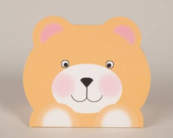 Teddy bear favour boxes