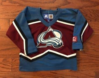 Vintage Colorado Avalanche NHL Starter  jersey