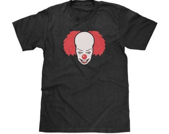 Pennywise The Clown Shirt Stephen King's IT Shirt Available in Adult & Youth Sizes