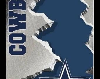 Cowboys CORNHOLE WRAPS