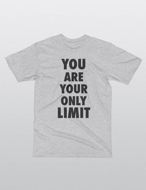 You Are Your Own Limit | UNISEX 100% Cotton T-Shirt