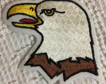 BALD EAGLE Head Patch Mint Condition Detailed Item WILDLIFE Bird