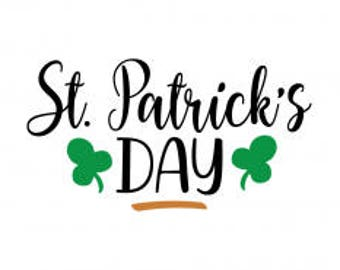 St Patrick's Day .svg file for Cricut and Silhouette