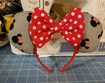 Disney inspired Minnie mouse park ears