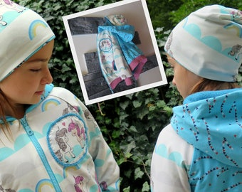 Hoodi, Hoody, jacket with request fabric