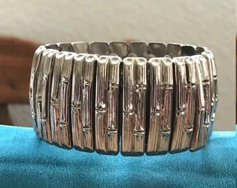 Vintage Silver Expandable Bracelet