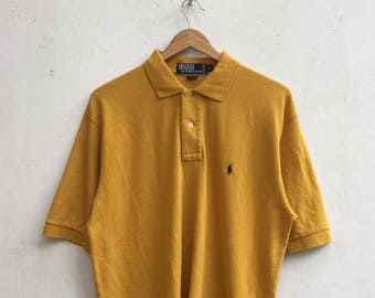 Vintage POLO By Ralph Lauren Collar Shirt Size M #337
