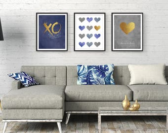 wall hangings for living room. Living room wall art  Large Modern Wall living Etsy