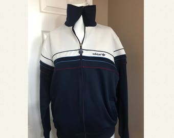 Vintage Adidas 80's Track jacket.