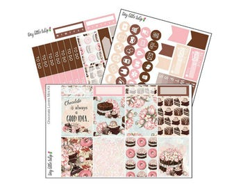 Planner Stickers Chocolate Lovers Mini Weekly Kit