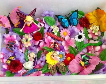 Fairy Butterfly Sensory Bins