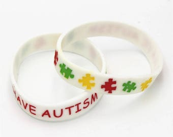 Autism Medical Alert Silicon Bracelet