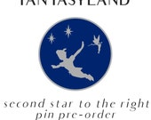 PREORDER Fantasyland Enamel Pin Series - Second Star To the Right