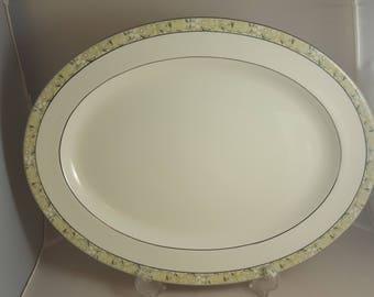 "Minton Wimbledon Oval Platter 16"""