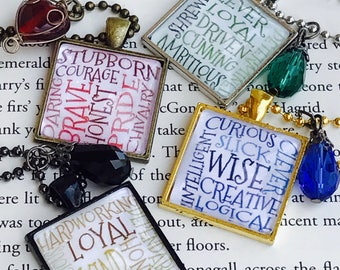 Harry Potter Inspired House Necklaces